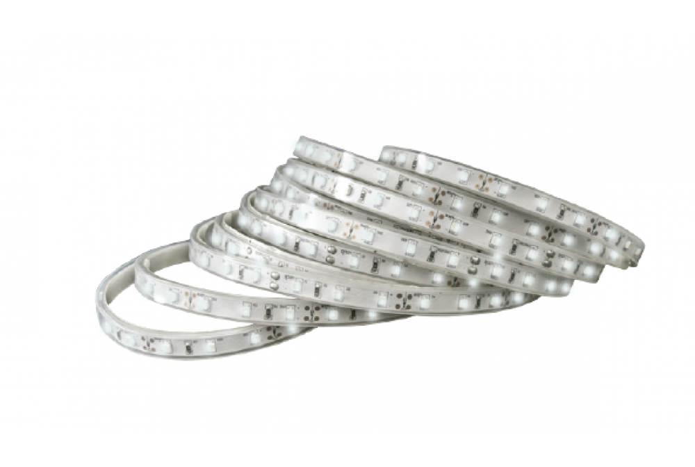 STRIP BIANCA 5MT 24V (60 LED 4.8Wx MT) IP44 4000K