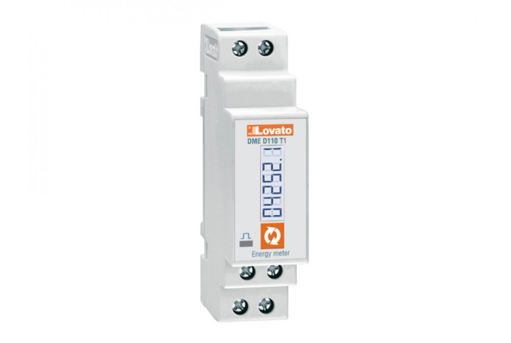 CONTATORE ENERGIA DIG.40A MONOFASE 1OUT