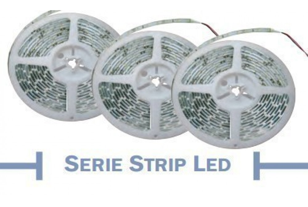 STRIP LED IP20 20W/MT 24V 5M 6000K
