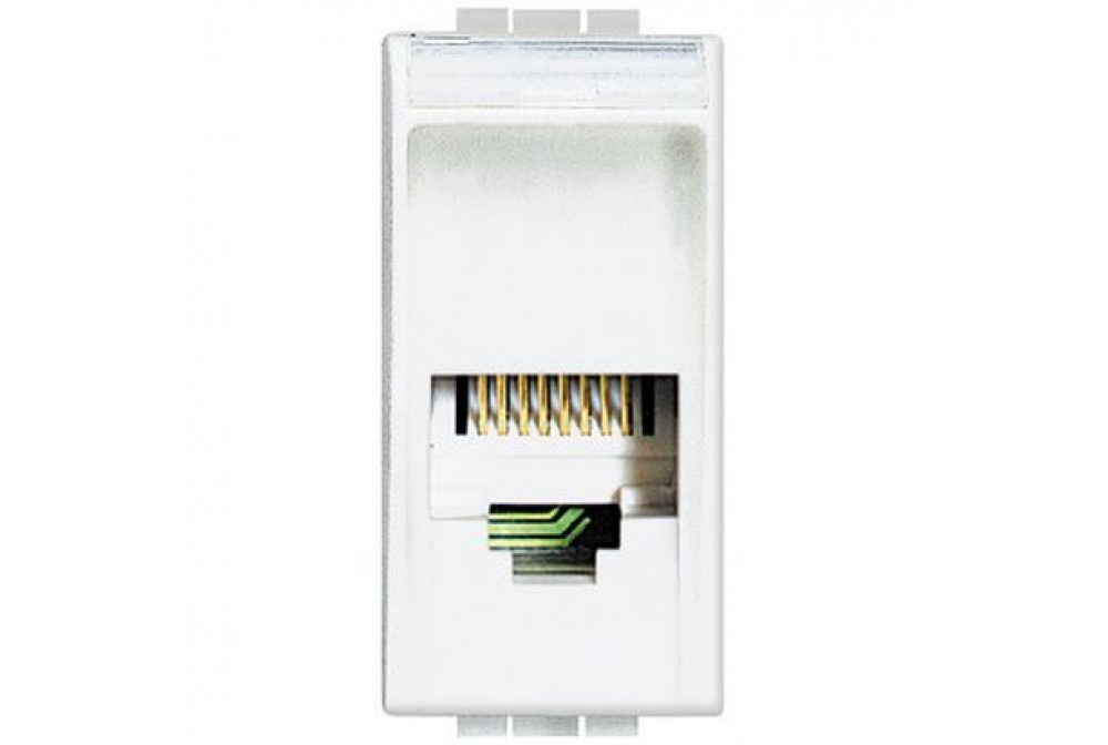 BTICINO LIVINGLIGHT bianco connettore RJ12 K10 N4258/11N