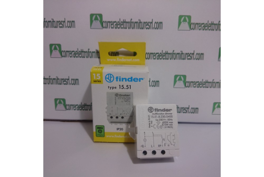 finder 15518230.0400 varialuce regolatore dimmer  FINDER 15.51.8.230.0400