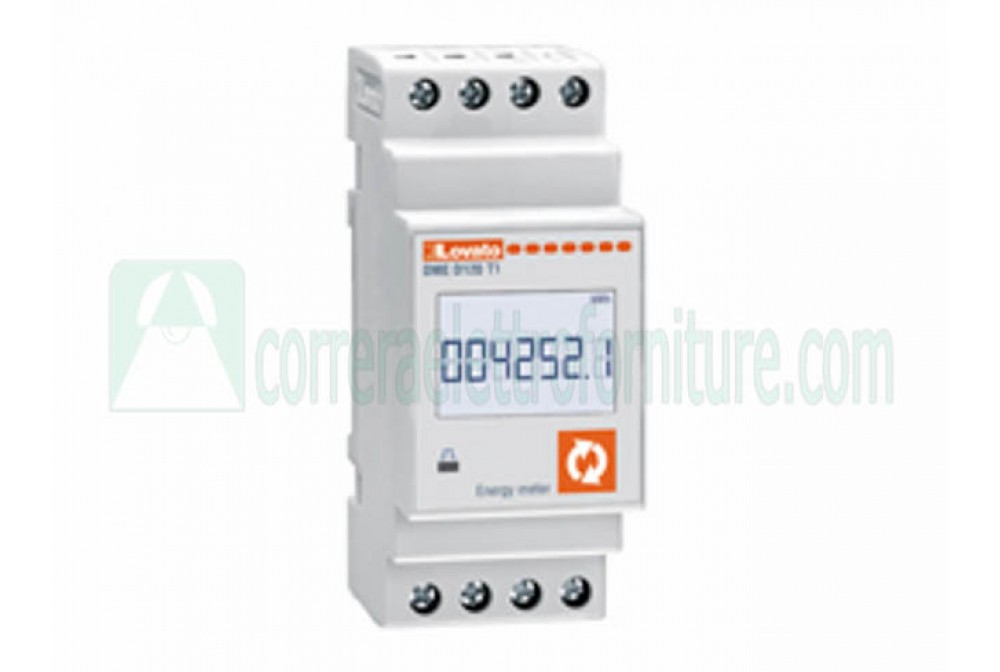 Contatore energia dig.63A monofase 1 out LOVATO DMED120T1
