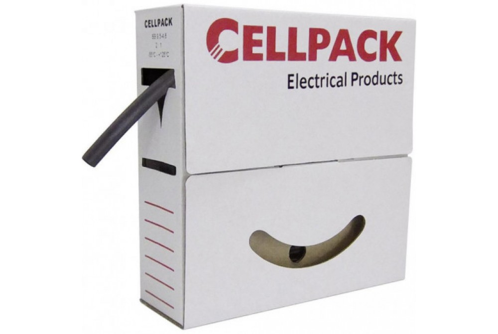 cellpack 127089 guaina termoregistringente nera diametro 25,4 mm (confezione  Mt. 4)