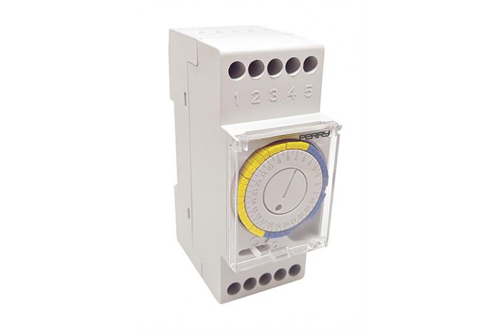 PERRY ELECTRIC 1IO0022 INTERRUTTORE ORARIO A CAVALIERI 230V
