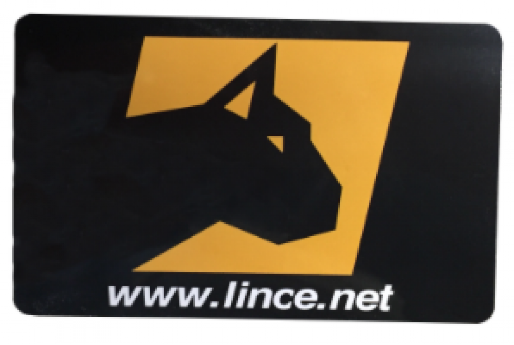 lince 4133 chiave tipo carta  RFID 85x54 mm 125 KHZ