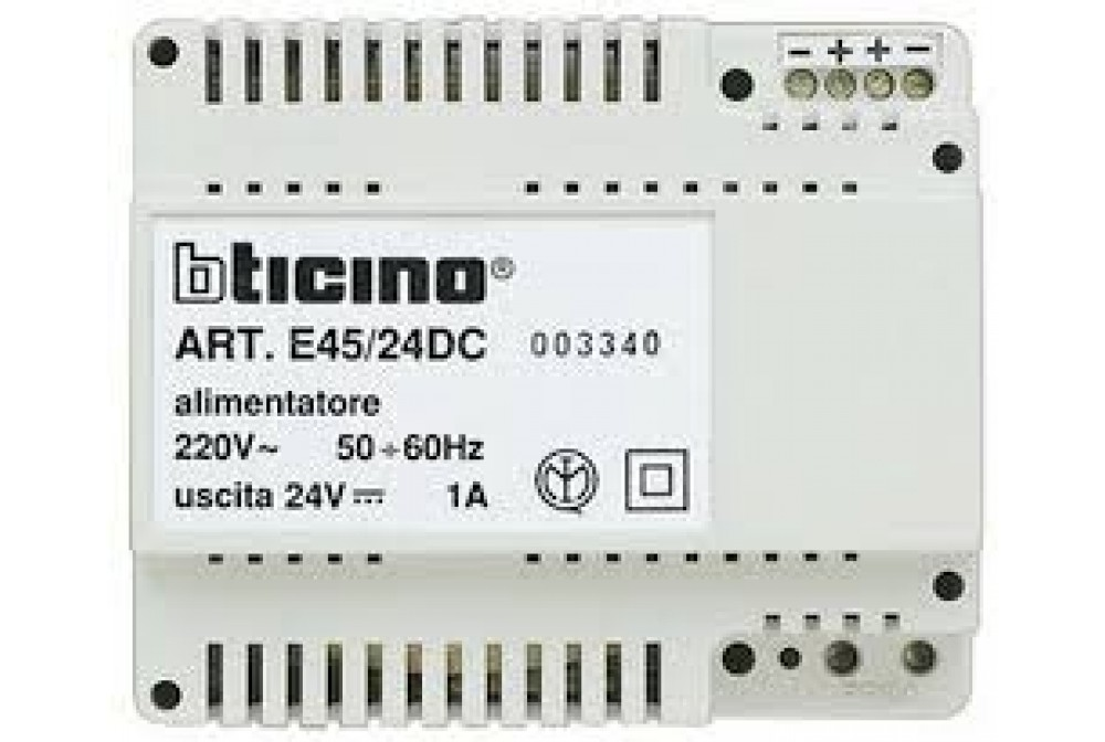 LIVING - ALIMENTATORE SWITCHING 220V/24VDC