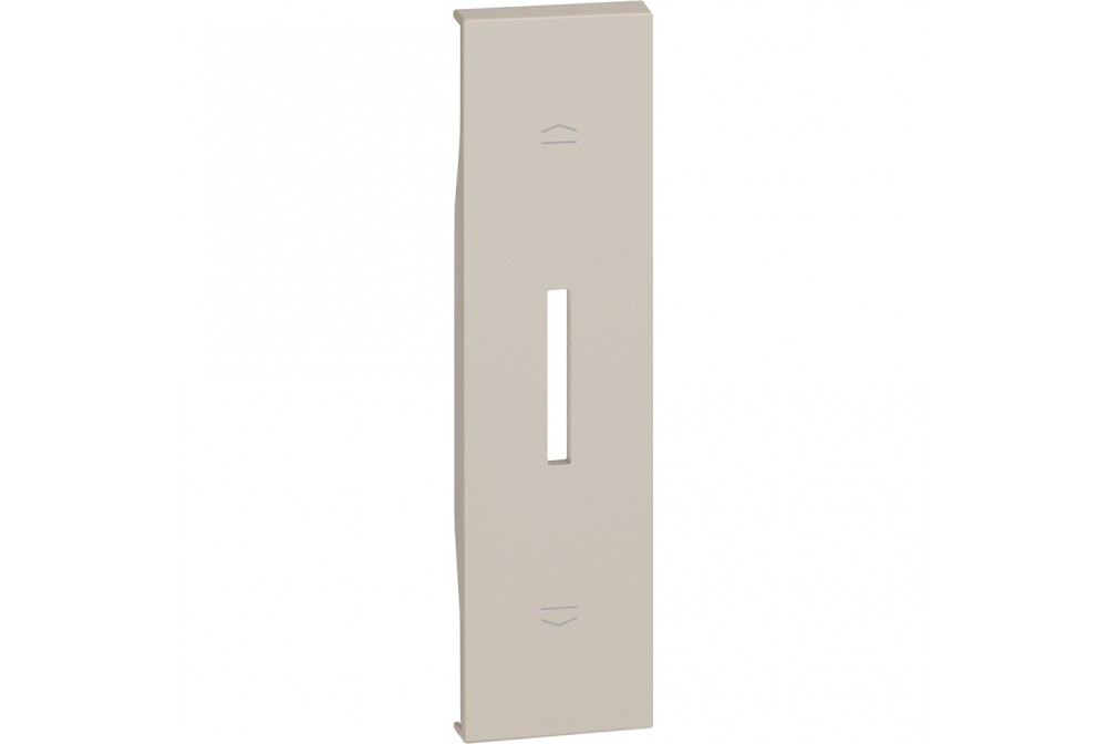 BTICINO LIVING NOW KM06 COVER PER K4027 COMMUTATORE TAPPARELLE 1 MODULO SABBIA