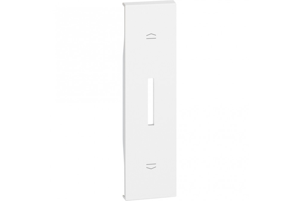 BTICINO LIVING NOW KW06 COVER PER COMMUTATORE TAPPARELLE K4027 BIANCO