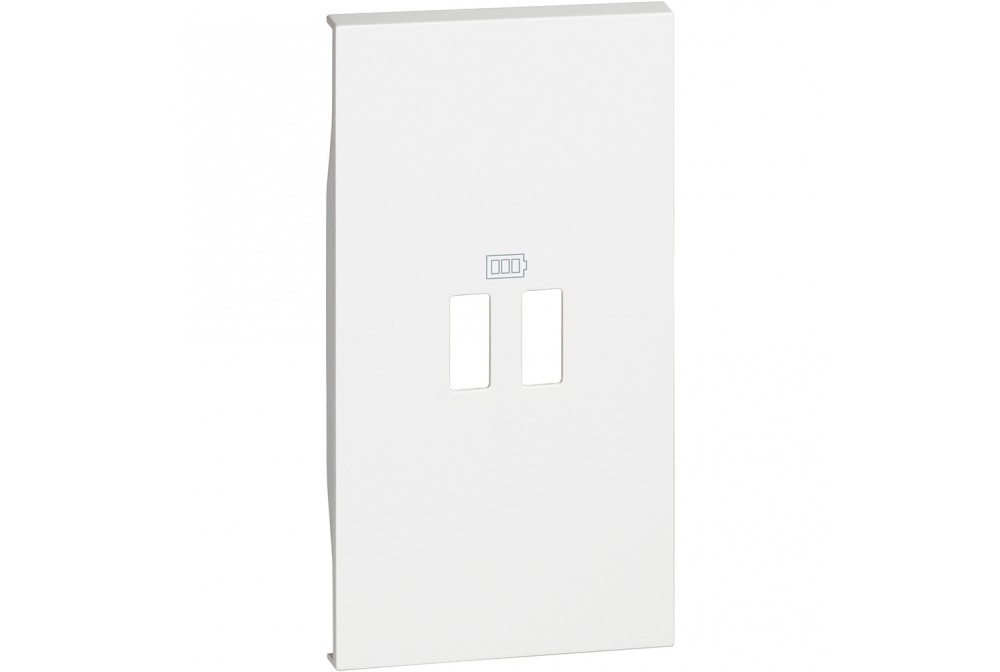 BTICINO LIVING NOW KW12C COVER CARICATORE USB 2M BIANCO